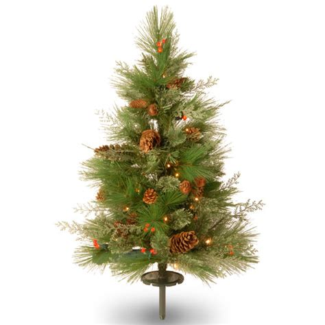 white pine 2 6 quot green pathway artificial christmas tree