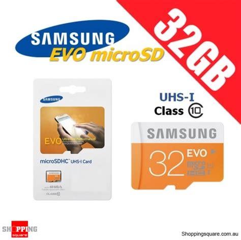 Samsung Micro Sd Evo Uhs 1 32gb 48mb S Original Memory Card samsung 32gb evo uhs i micro sdhc memory card grade 1 class 10 48mb s shopping