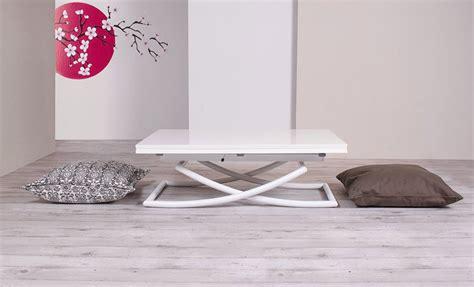 mesa centro elevable y extensible