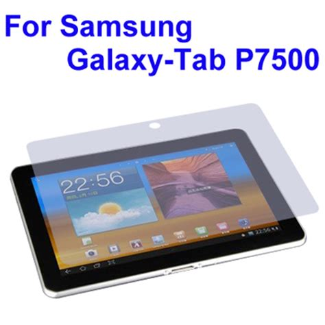 Samsung Tab P7500 frosting lcd screen guard protector for samsung