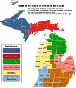 Michigan Dmu Map by Dnr Snowmobile Trail Maps