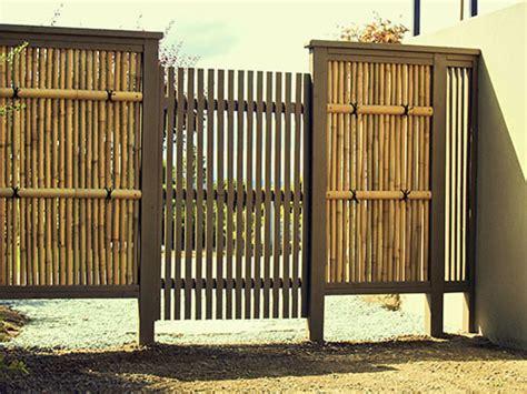 Kandang Ayam Pagar Bambu japanese garden gallery 4 wooden gates bamboo fences