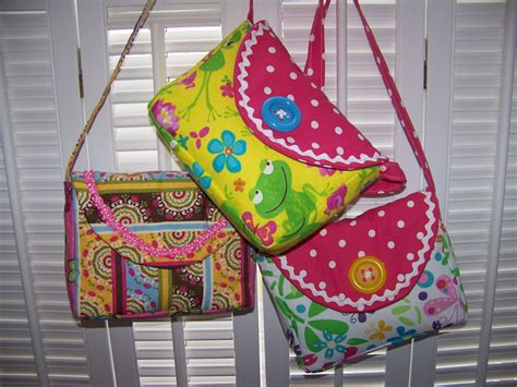 pattern sewing tutorial little girl purse pattern pdf and tutorial easy by
