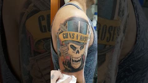 guns n roses tattoo youtube