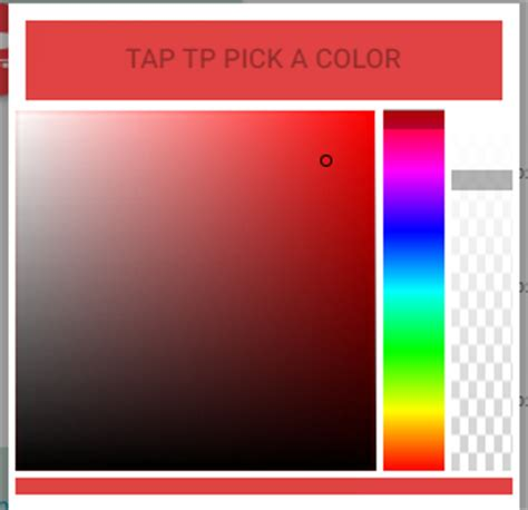 ionic colors ionic color picker ionic marketplace