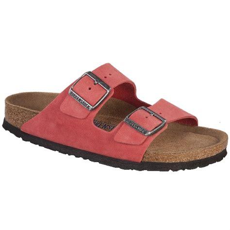 birkenstock beds birkenstock arizona nubuck soft footbed sandals women s