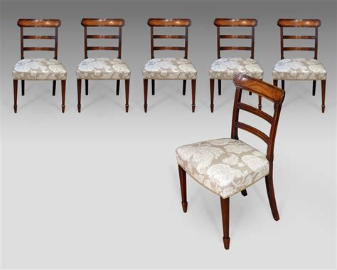 Set Of 6 Dining Chairs Set Of 6 Antique Dining Chairs Six Antique Dining Chairs 6 Regency Dining Chairs 6 Mahogany