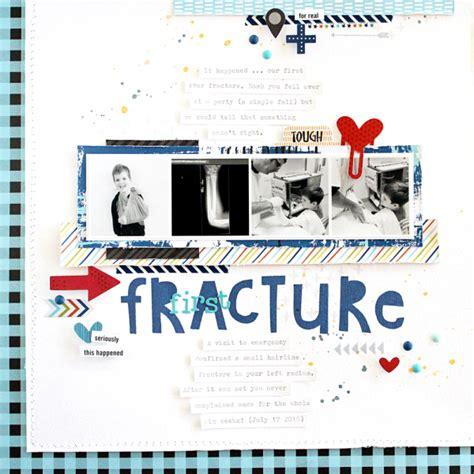 scrapbook layout broken arm bella blvd studio blog alex made for tough boys quot first