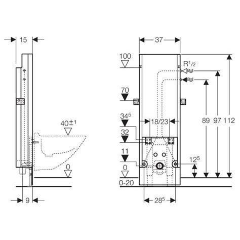 abstand bidet wc geberit sanbloc baustein f 252 r bidet 112 cm eckventile