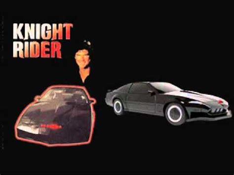 theme music knight rider knight rider theme tema el coche fant 225 stico youtube