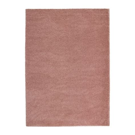 teppich pink 197 dum rug high pile light brown pink 170x240 cm ikea