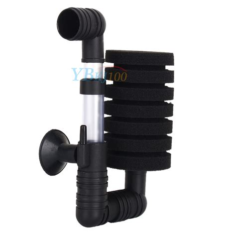 Filter Aerator Aquarium Fish Tank Biochemical Spons Xy 2822 aquarium fish tank biochemical air sponge filter with suction cup