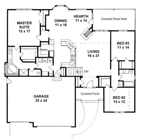 house plans with hearth rooms 3 bedroom with garage house plans under 1100 square feet joy studio design gallery