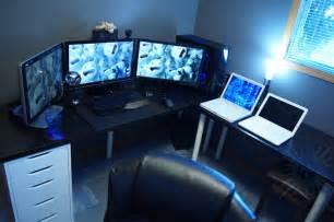 awesome gaming desks fresh best pc gaming desk setup 12973