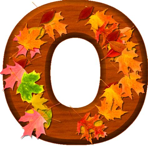 how to o presentation alphabets cherry wood leaves letter o