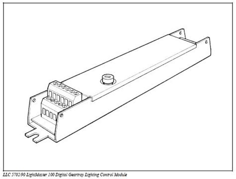 northwest lighting controls llc llc 5702 90 lightmaster 100 dsi control module camlar