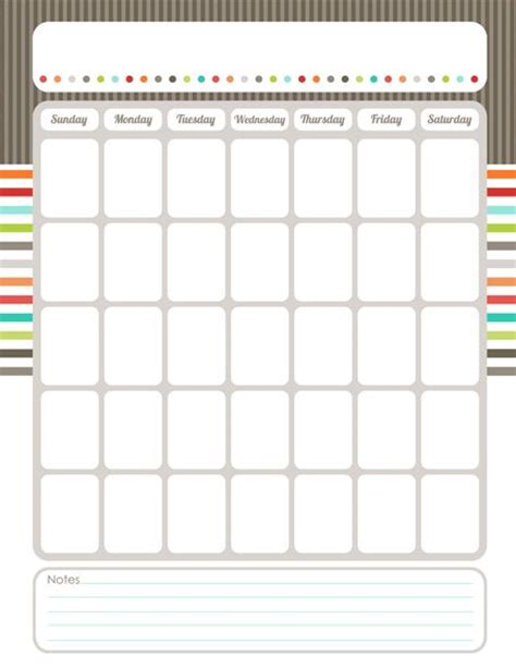 25 best ideas about blank calendar on pinterest blank