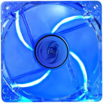 Deepcool Xfan 12cm Led Blue deepcool xfan 120 l b transparent fan blue led