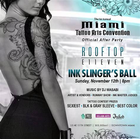 tattoo convention austin 2017 miami tattoo arts convention after party miami fl nov