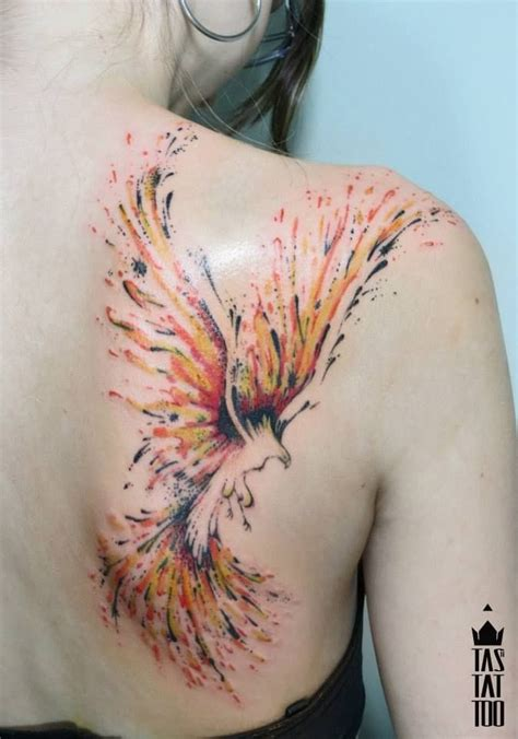 tattoo phoenix flames 40 blazing phoenix tattoos tattoodo