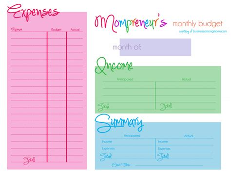 9 monthly budget templates free sample example format download