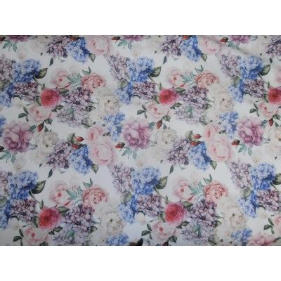 floral knit fabric floral print scuba knit fabric 59 quot wide thin for fashion wear