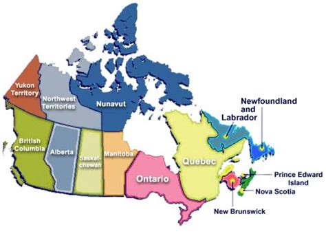 canadian map facts facts and details about canada