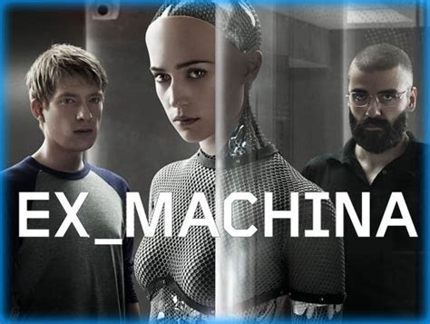 ex machina 2015 movie poster 5 scifi movies ai machine learning nlp and deep learning chatbots life