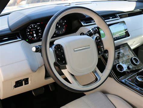 land rover interior 2018 2018 land rover range rover velar test drive review