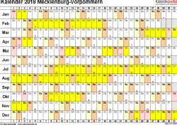 Kalender 2018 Mit Feiertagen Mv Kalender 2018 Mecklenburg Vorpommern Ferien Feiertage