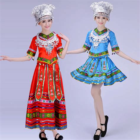 design dance clothes ladies miao clothing hmong clothes hmong miao dress for