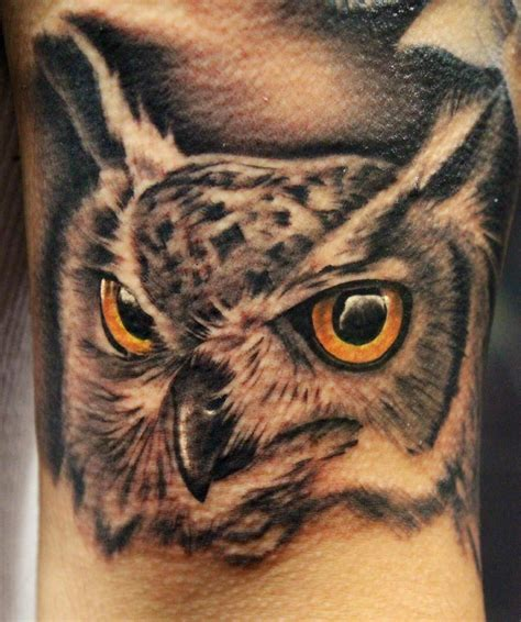 realistic owl tattoos realistic owl by alonzo gonzales owls