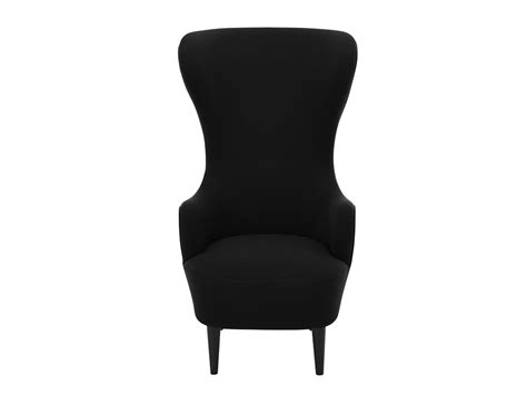 Tom Dixon Wing Back Chair by Buy The Tom Dixon Wingback Chair Black At Nest Co Uk