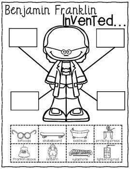 benjamin franklin biography 2nd grade benjamin franklin s inventions social studies activities