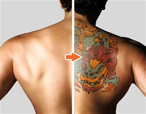 mockup for tattoo tattoo mockup photoshop templates pack on behance