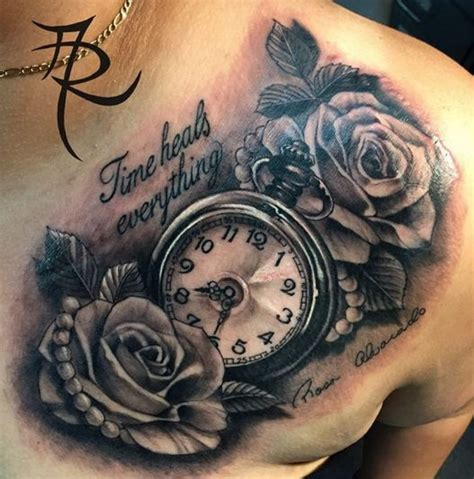 tattoo ideas around names 8 best timeless clock tattoo designs images on pinterest