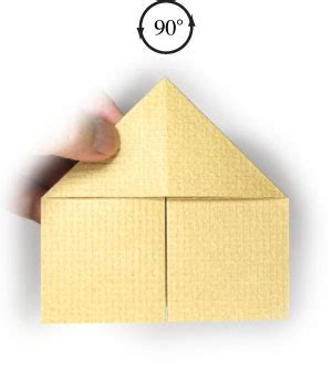 3d Origami House - how to make a 3d origami house page 8