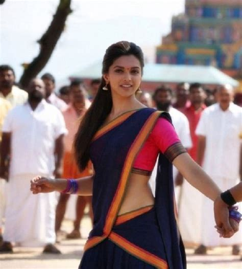 deepika padukone in chennai express the return of half saree and its bollywood connection