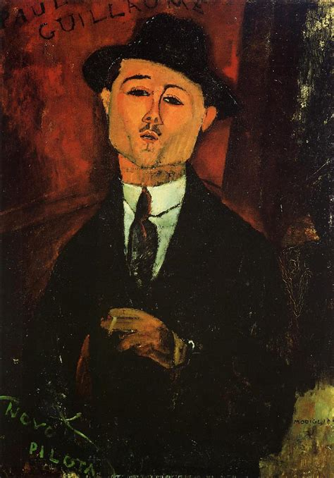 paul guillaume 1915 amedeo modigliani wikiart org