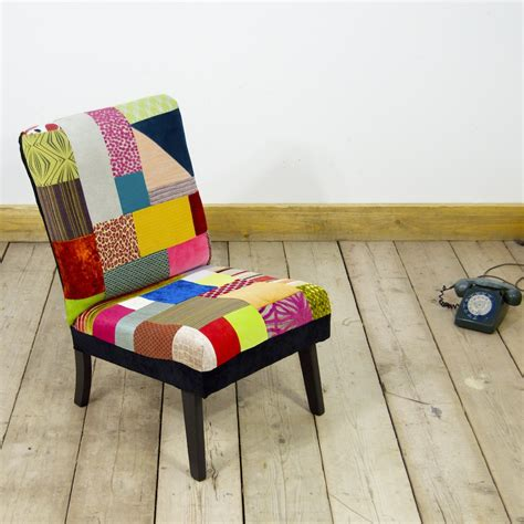 Upcycled Chairs by Pretty In Patch Upcycled Furniture