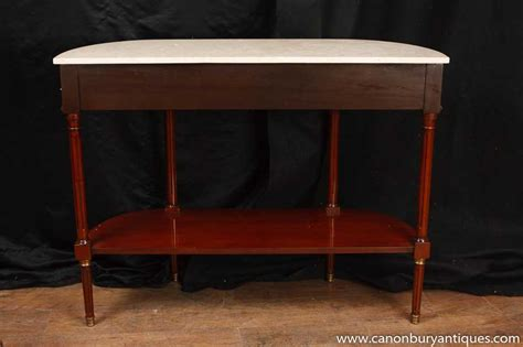 marble top sofa table regency console table mahogany marble top sofa tables