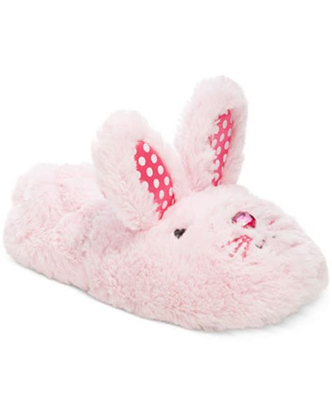stride rite bunny slippers stride rite fuzzy bunny slippers toddler