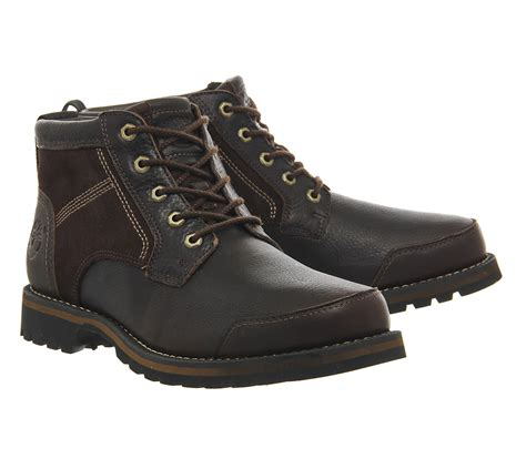 timberland boat shoes jones timberland larchmont chukka in brown for men lyst
