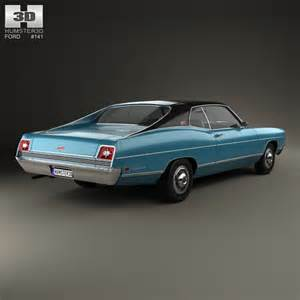 1969 Ford Galaxie 500 Ford Galaxie 500 Fastback 1969 3d Model Humster3d