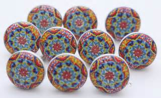 colorful ceramic knobs beautiful ceramic door knobs kitchen