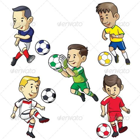 soccer kids by memoangeles graphicriver cartoon kids playing military bralicious co