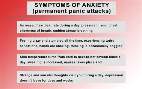 college anxiety disorders symptoms dangers
