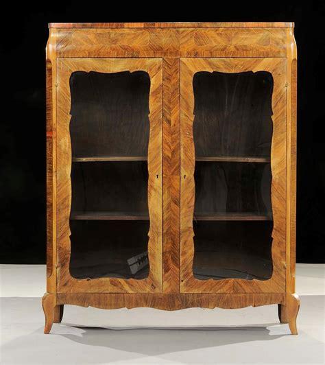 mobile vetrina mobile vetrina a due ante xix secolo antiquariato