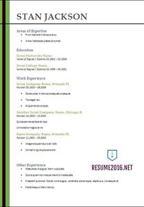 Resume In 2017 by Simple Resume Template 2017 Resume Builder