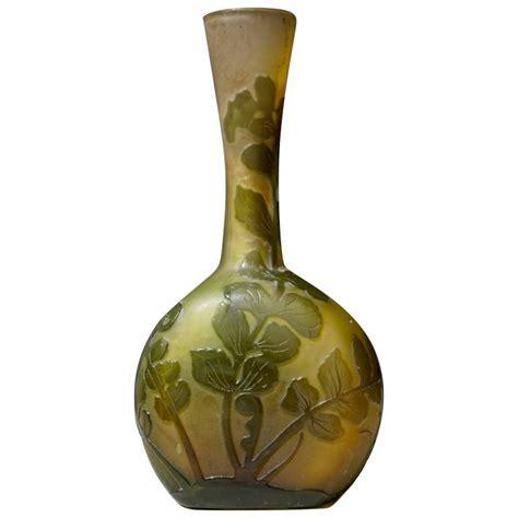 emile gall 233 nouveau cameo glass vase for sale